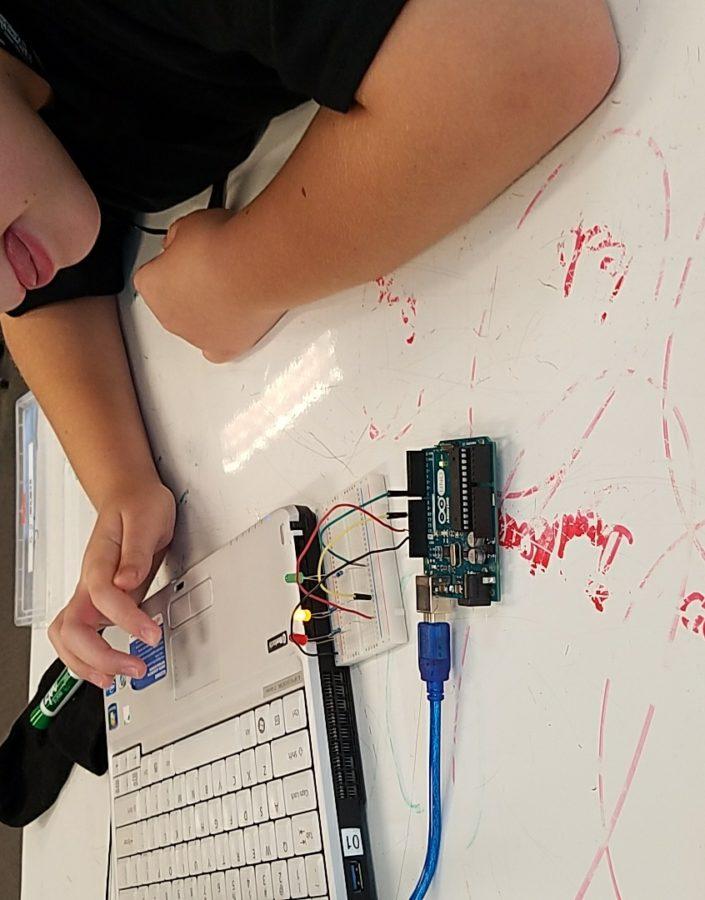 students at VA Tech