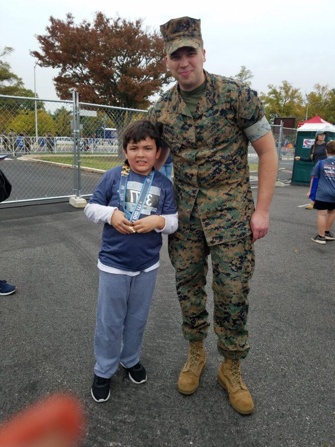 Marine and student